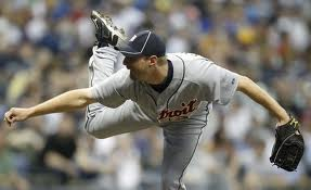 Detroit tiger pitcher
